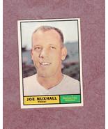 1961 Topps # 444 Joe Nuxhall Kansas City Athletics Nice Card - $3.99