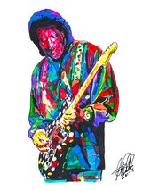 "Buddy Guy, Guitar, Vocals, Chicago Blues, Blues Rock, Music, 18""x24"" Art... - $19.99"