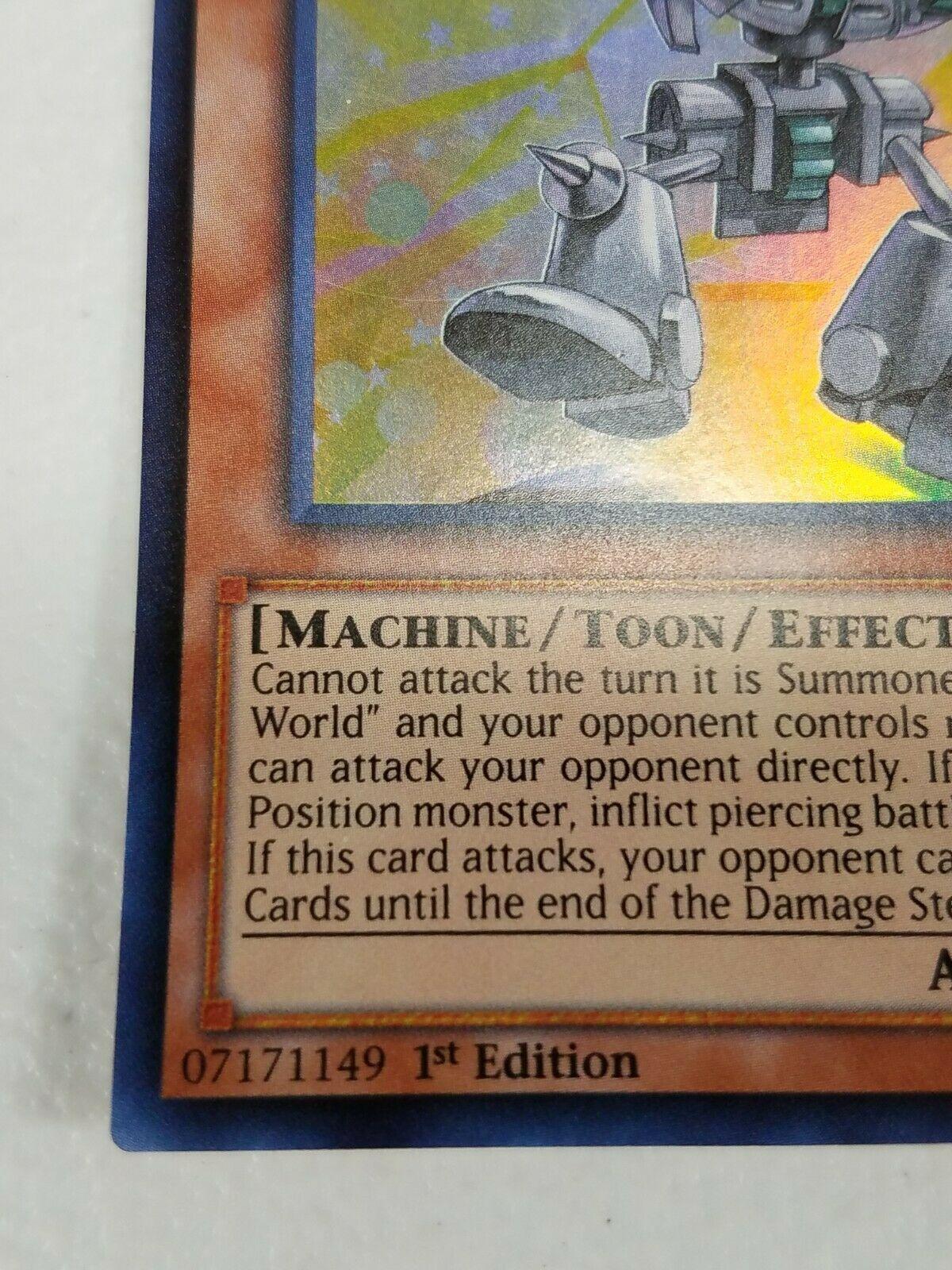 Yu-gi-oh! Trading Card Game - Toon Ancient Gear Golem - Super Rare - 1st Ed.