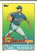 1989 Topps Minis Baseball-#66-Randy Myers-Mets - $4.04