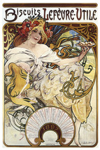 French Vintage Biscuit POSTER.Stylish Graphics.Room Bar Decor.Art 169 - $10.89+