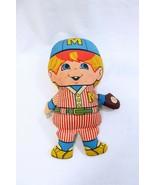 ORIGINAL Vintage 1969 Mattel Patter Pal Baseball Stuffed Doll - $39.59