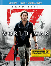 World War Z (2-Disc Combo/Blu-Ray/DVD/Dc)