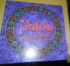 7 Deadly Sins Board Game-Complete - $16.00
