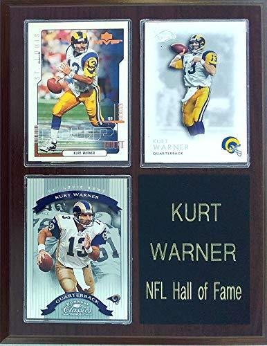Frames, Plaques and More Kurt Warner St. Louis Rams 3-Card 7x9 Plaque - $22.49
