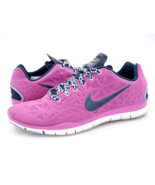 Nike Womens 9 Pink Free TR Fit 3 Running Shoes 555158-006 Lace Up EU 40.5 - $39.99