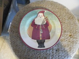 Block Father Christmas salad plate 2 available - $5.54