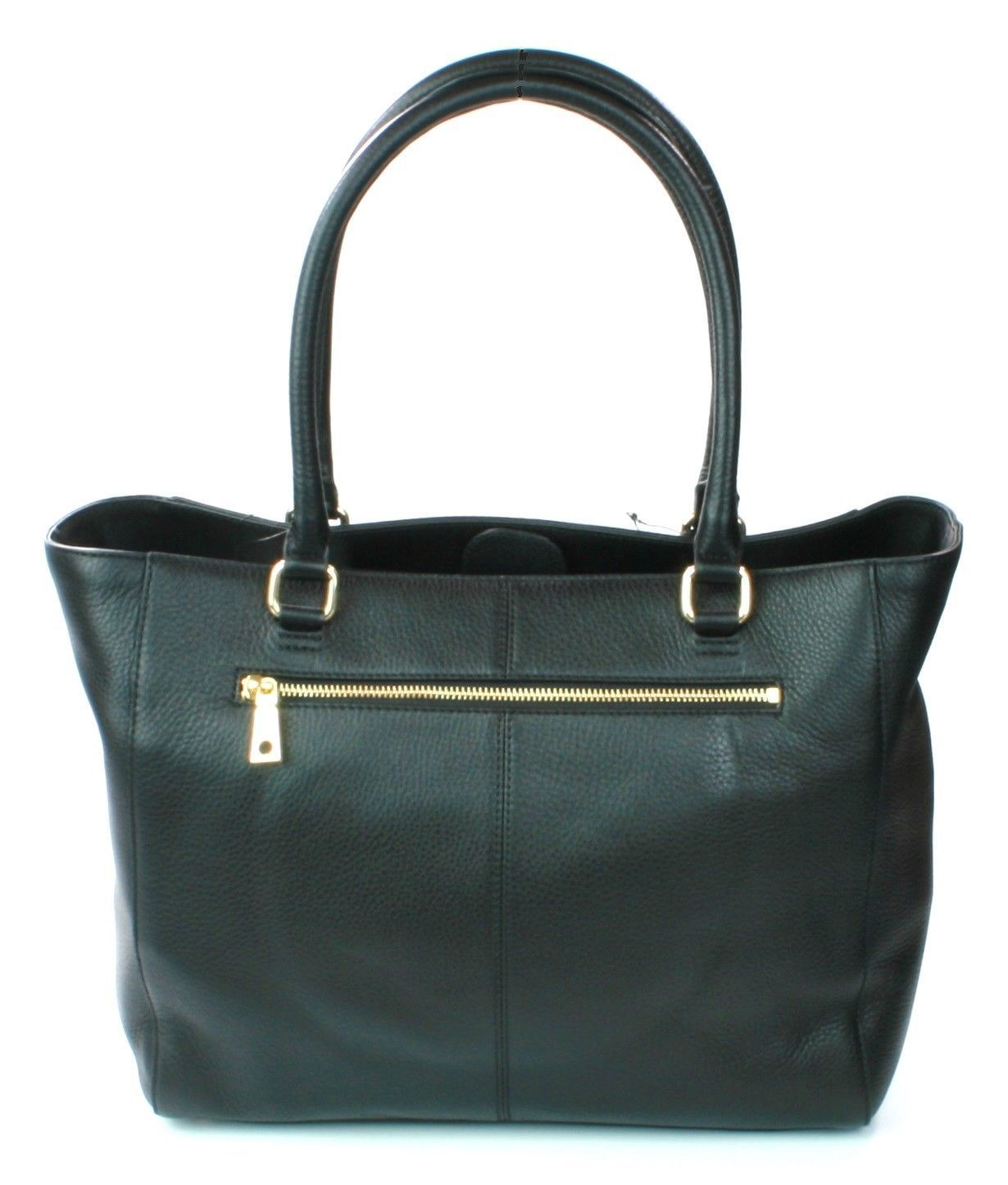 Donna Karan DKNY Black Leather Large Tote Shopper Bag Handbag Large RRP £325