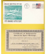 5th UNMANNED CAPTIVE FLIGHT EDWARDS CA 8/12/77 AMERICAN SPACE HERITAGE W... - $3.98