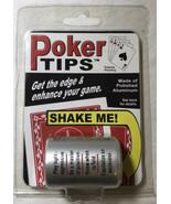 Poker Tips Decision Maker Shaker   - $5.88