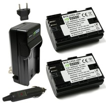 Wasabi Power LP-E6, LP-E6N Battery (2-Pack) and Charger for Canon EOS 5D Mark II - $49.99