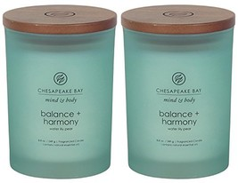 Chesapeake Bay Candle Scented Candles Balance + Harmony Water Lily Pear ... - $26.99