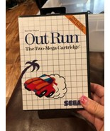 Out Run (Sega Master System , 1987) COMPLETE including Manual and Games - $18.69