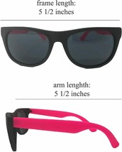 Neon Sunglasses (Pack 12) Assorted Cool Colors Neon Sunglasses Party Favors image 1