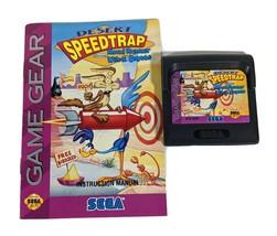 Sega Game Gear Desert Speed Trap Road Runner Wile E. Coyote & Manual Vid... - $18.77
