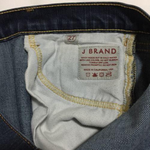 J Brand Bootcut Jeans Size 28 Womens Dark Blue Style #8502U324 image 7