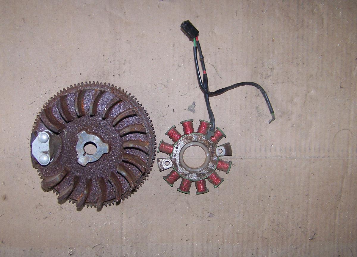 Tecumseh H50 electric start alternator & and 18 similar items
