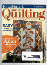 2009 March-April/Fon's & Porter's Love of Quilting/Preowned Magazine - $3.99