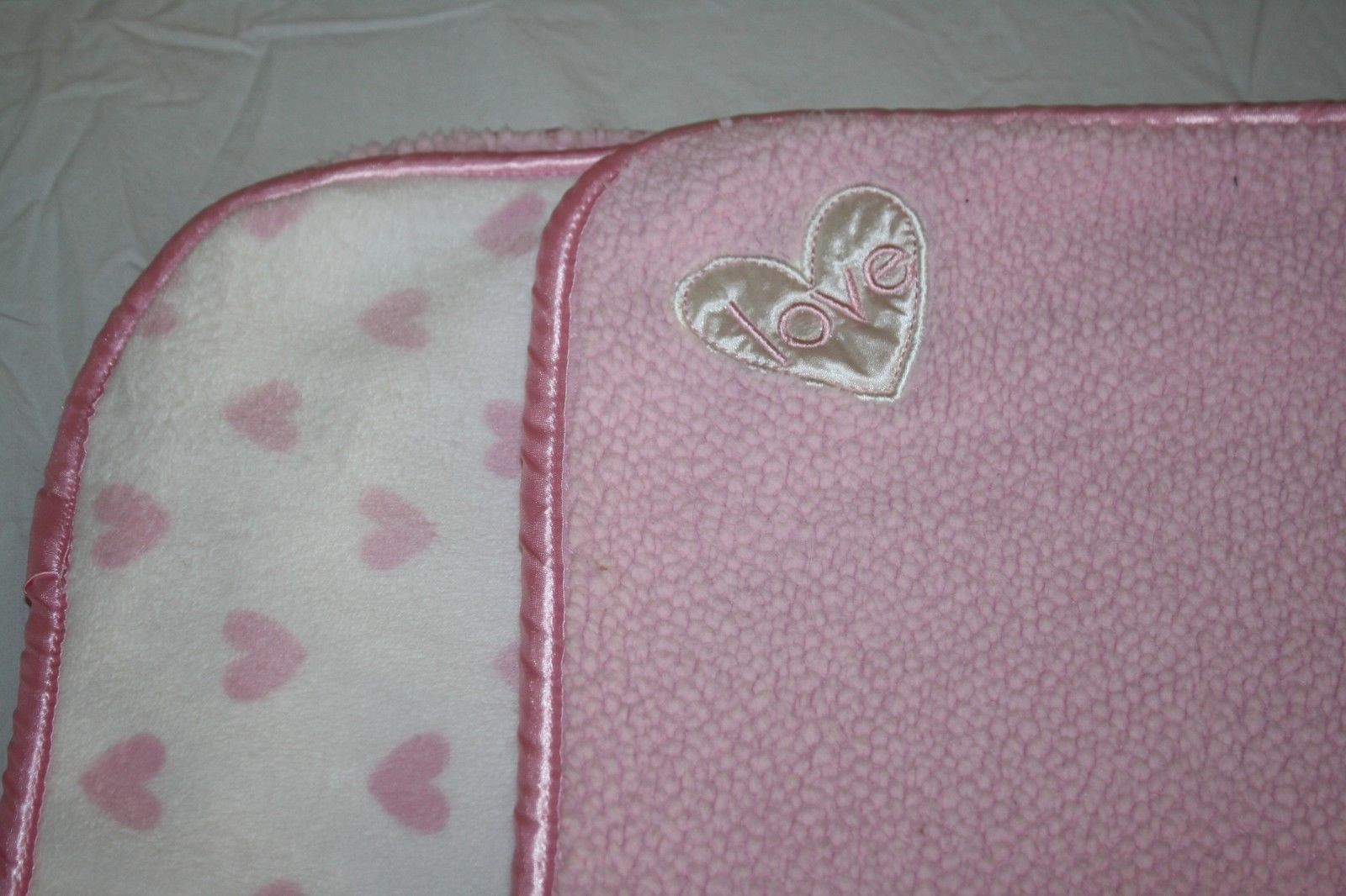 Carters Child Of Mine Love Hearts Pink White And 50 Similar Items