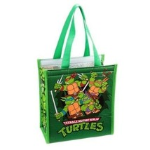 Teenage Mutant Ninja Turtles Small Insulated Shopper Tote Bag NEW UNUSED - $7.84