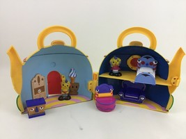 Disney Rolie Polie Olie Teapot House with Talking Furniture and 2 Figure... - $54.40