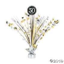 Sparkling Celebration 50th Birthday Centerpiece - $6.24