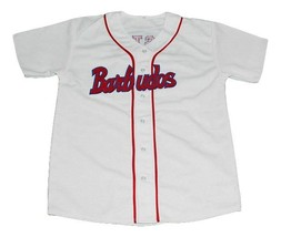 Custom Name Number Barbudos Cuba Baseball Jersey Button Down White Any Size image 3