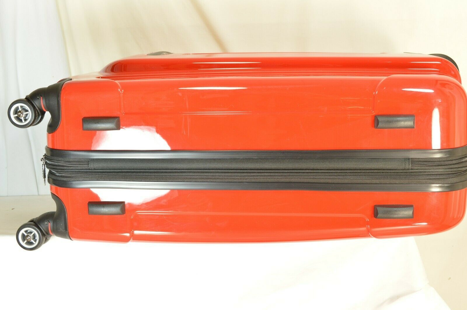 "Traveler's Choice 29"" Sedona new spinner red polycarbonate shell combo lock image 3"