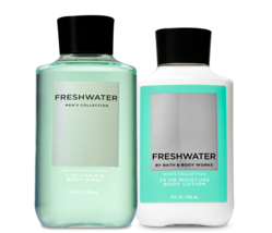 Bath & Body Works Freshwater Body Lotion & 2-in-1 Hair + Body Wash Duo Set - $32.95