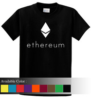 Ethereum Funny Men's T-Shirt Size S-3xl - $19.00