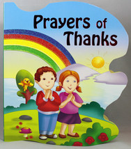 Prayers of Thanks Boardbook Kids St. Joseph Sparkle Books Age 2-5 yrs. C... - $7.72