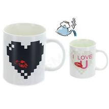 ECG Gender Color Changing Heat Sensitive Porcelain Hot Tea Coffee Milk M... - £9.30 GBP