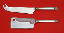Laureate By Towle Sterling Silver Cheese Server Serving Set 2PC Hhws Custom Made - $93.20
