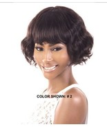 ORADELL MOTOWN TRESS HIR-CUTE 100% INDIAN REMY HUMAN HAIR WAVY PAGE WIG ... - $54.99