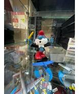 Smurfs Original Conductor Papa Smurf 20092 SCHLEICH Vintage Smurf Figure... - $14.80