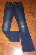 NEW! ROCK & REPUBLIC JEANS ~ WOMEN'S SIZE 6 M ~ MID RISE BOOTCUT NWT~  $88 - $29.95