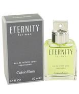 ETERNITY by Calvin Klein Eau De Toilette Spray 1.7 oz - $31.95