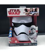 STAR WARS MASK First 1st order stormtrooper storm trooper helmet voice a... - $47.52