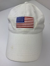 USA American Flag Stars Stripes Adjustable Adult Ball Cap Hat - $12.86