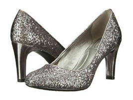 New Bandolino Gray Glitter Comfort Pumps Size 7.5 M - $34.99