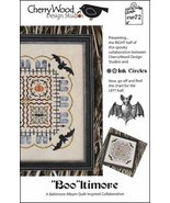 Booltimore CW72 (right half) halloween cross stitch chart Cherry Wood De... - $7.20