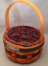Longaberger 1997 Inaugural Basket Combo Liner Protector - $17.64