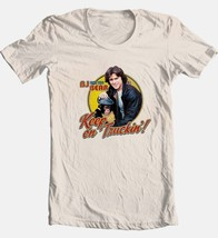 BJ and Bear T-shirt Keep On Truckin' 1970's retro TV Land 100% cotton tee NBC537 image 2
