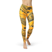 African Tribal Leaves Winter Leggings - $37.99+
