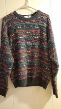 Florence Tricot Vintage, Italy Styled MultiColor Sweater - $18.99