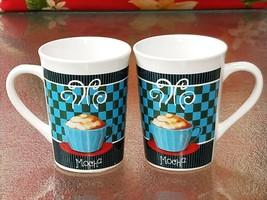 ROYAL NORFOLK MOCHA COFFEE CUP ,MUG SET OF 2 - $20.00