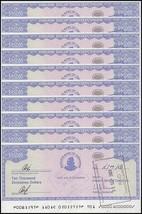 Zimbabwe 10,000 Dollars Cheque Amount Field X 10 PCS, 2003,P-17, USED - $17.99