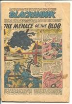 Blackhawk #138 1959-DC-Rock Creatures-P - $17.85