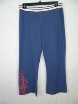 Tommy Hilfiger Pants Jogging Blue Cropped Size Large - $20.39