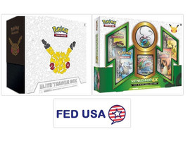 Pokemon TCG Generations Elite Trainer Box + Venusaur EX Red and Blue Collection - $185.00